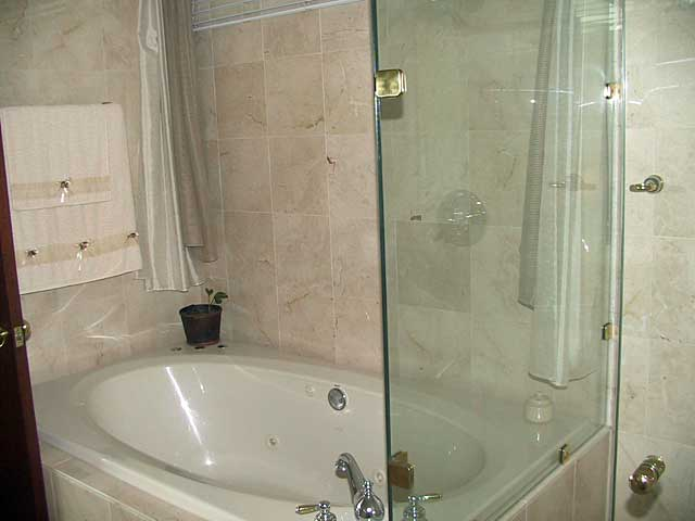 Bathroom photo example simple bathroom with sand stone for Bathroom examples