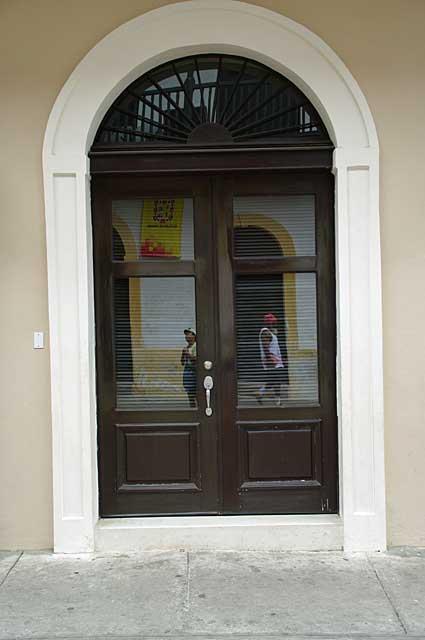 Colonial door photo example for Different styles of doors