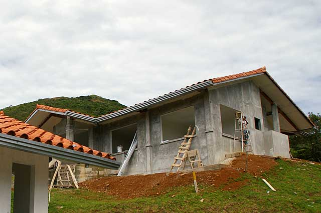 Example image of a traditional country house under for Building a house in the mountains