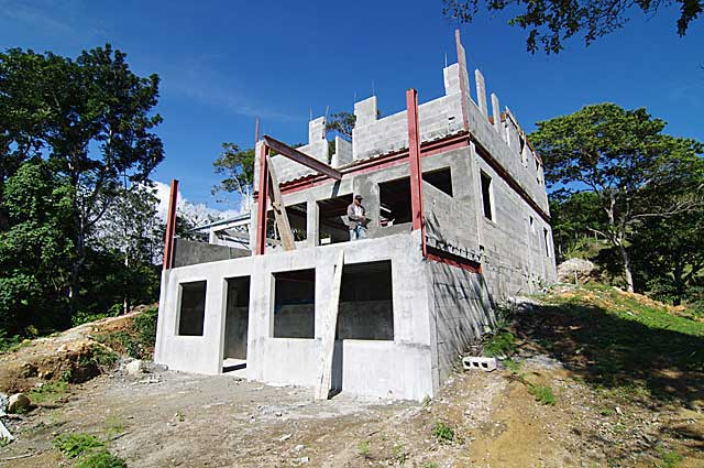 Example image of 3 story mountain country house under for Building a house in the mountains