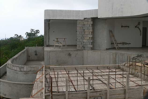 Example Photo Of A Modern Country House Under Construction