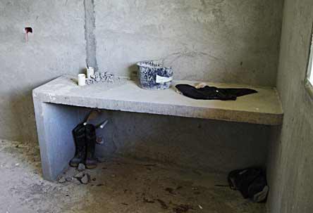 Bathroom Vanities With Concrete